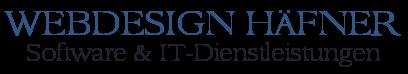 Webdesign Häfner - Kunreuth Forchheim Oberfranken - Software - Programmierung - IT-Dienstleistungen